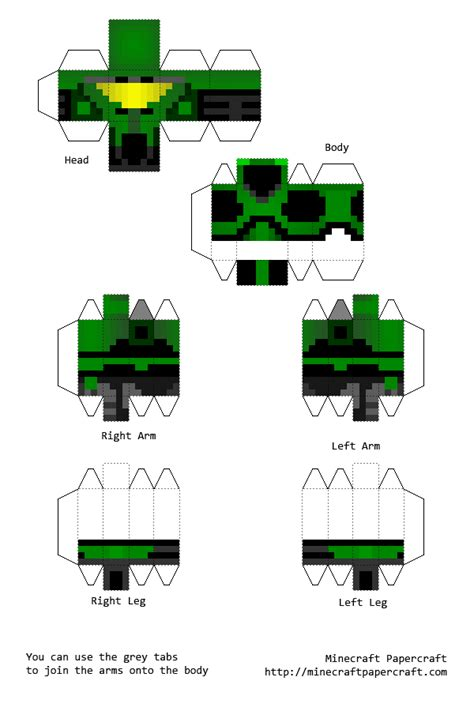 Papercraft Halo - papercraft halo war texture pack most of the armor