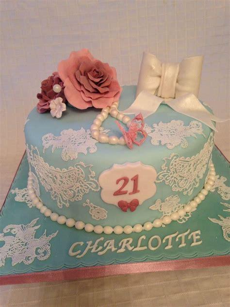 vintage themed birthday cakes vintage 21st birthday cake cakes and cake pops pinterest