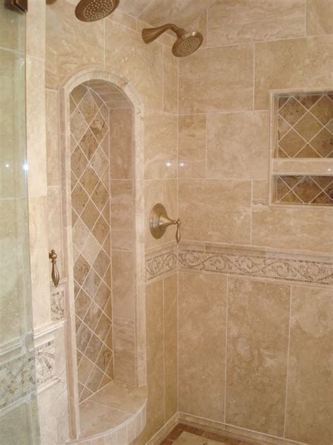 travertine tile ideas bathrooms cary bath remodel traditional travertine traditional