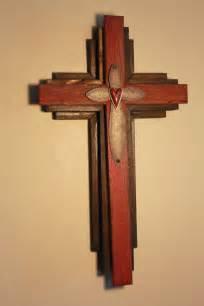 Wall Handmade - handmade wood wall cross highlights ebay