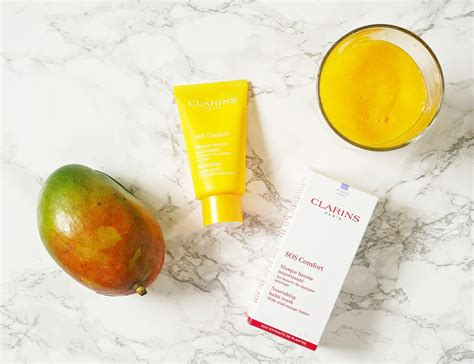 clarins comfort mask the ultimate nourishing mask for dry skin clarins sos