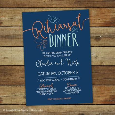 casual wedding rehearsal dinner invitations casual rehearsal dinner invitation wedding