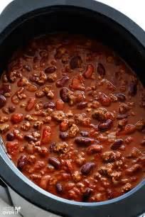 slow cooker chili recipe dishmaps