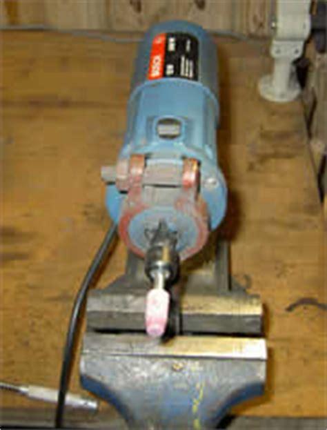 sharpen mower blade bench grinder lawn mower blade sharpener