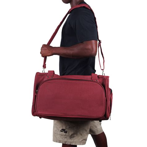 sports bag with separate shoe compartment sport size duffel bag actual football leather
