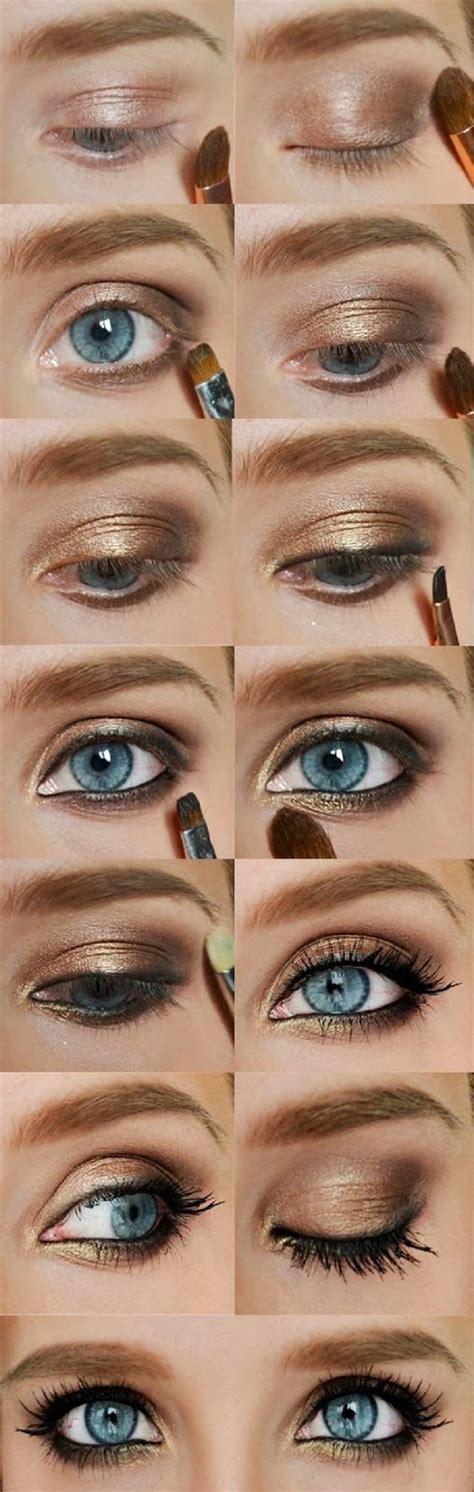 eyeshadow tutorial with gold top 10 effortless and fast golden eyeshadow tutorials