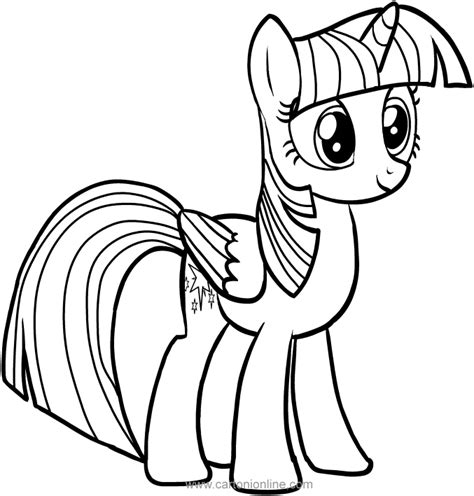 my little pony coloring pages hasbro twilight sparkle of my little pony coloring pages