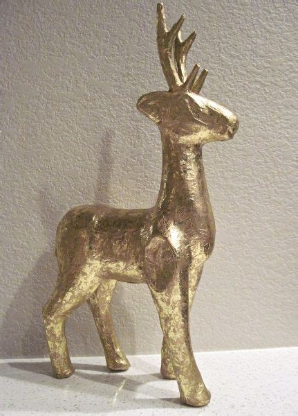 Paper Mache Reindeer Craft - best 25 mounted deer heads ideas only on