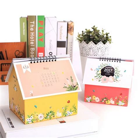 small desk calendar small desk calendar with notepad customer promotion paper