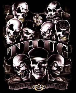 rap gothic rockabilly tattoo biker totenkopf skull t