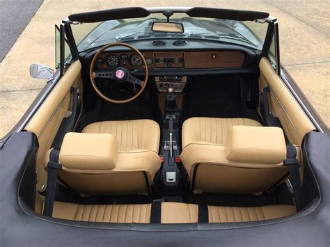 fiat spider leather seat covers fiat 124 spider 1978 fiat