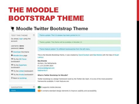 moodle theme javascript building a moodle theme with bootstrap