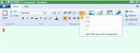 microsoft wordpad templates