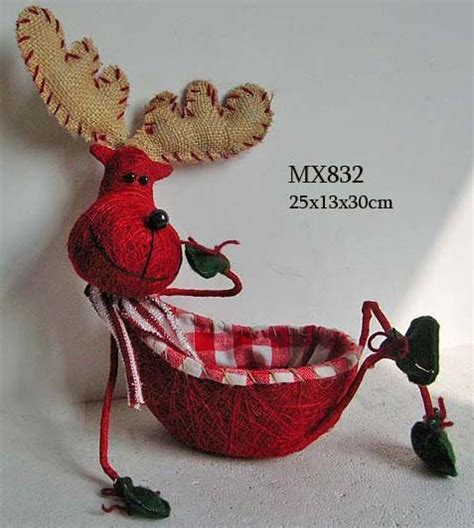 costco moose angel china decoration moose basket mx832 china gift moose