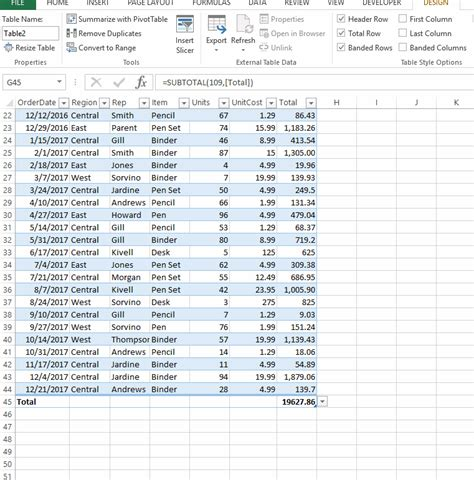Dynamic Table Excel by Excel Tables The Ultimate Guide I Will Teach You Excel