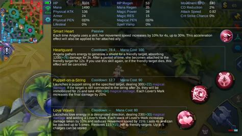 mobile legend hero guide angela support combine roonby