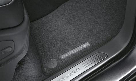 Porsche Cayenne Mats by Porsche Cayenne Carpeted Floor Mats 4 Zone Ac