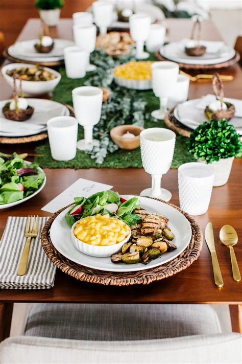 simply beautiful easter lunch the tomkat studio blog