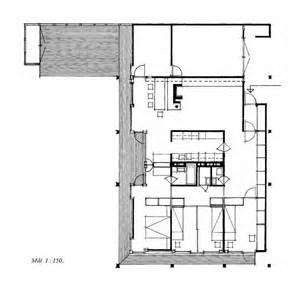 Floor Plan With Scale by Villa Schreiner 1963 Ground Floor Plan Scale 1 150