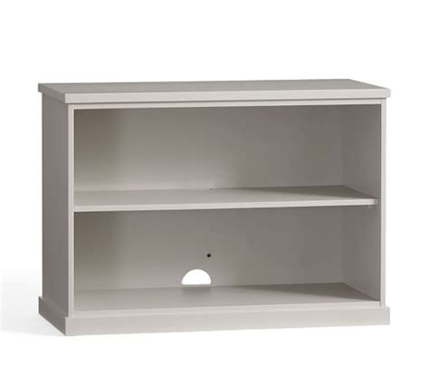 Top Shelf New Bedford by Bedford 2 Shelf Bookcase Antique White Pottery Barn
