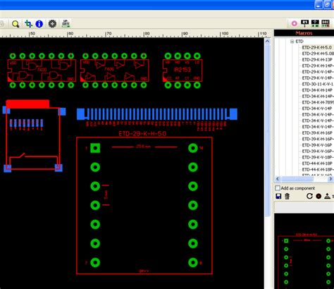 sprint layout library download sprint layout makros electronics projects circuits