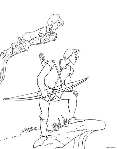 disegni da colorare la spada nella roccia