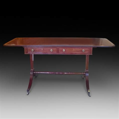Regency Mahogany Sofa Table Antiques Atlas Mahogany Sofa Tables