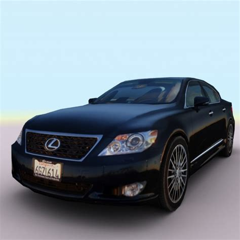 Lexus 2010 Models by 3d Model 2010 Lexus Ls 460