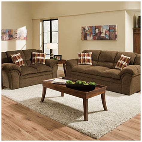 big lots living room furniture simmons verona chocolate chenille living room collection