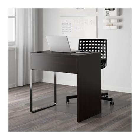 Ikea Micke Meja Komputer 73x50 Cm Hitamcokelat T0210 1 micke desk black brown 73x50 cm ikea