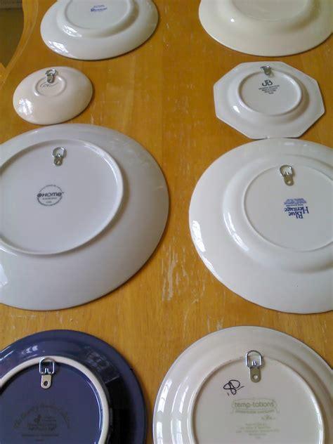 how to hang plates on the wall tired of expensive hangers to display your plates on walls