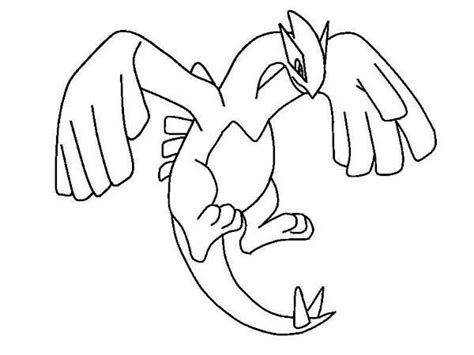 lugia pokemon coloring pages images pokemon images