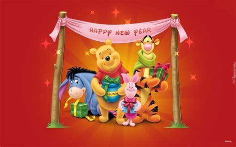 Rok Disney Pooh kubuś puchatek przyjaciele nowy rok