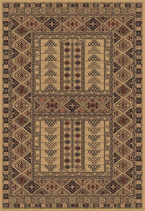 Rug Identification by Afghan 5938 41 Beige Rug Traditional Machine Made