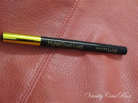 Eyeliner Hypersharp maybelline hypersharp eyeliner review and swatch new launch vanitycasebox