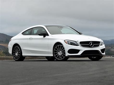 mercedes white report 2017 mercedes c class coupe ny daily