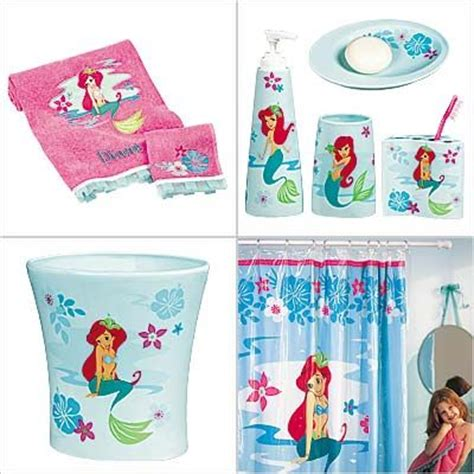 Disney Ariel Bathroom Set Then There S An Ariel Bath Mermaid Bathroom Accessories