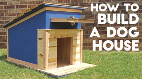 how to build a large dog house 40 terrific diy dog houses for fido
