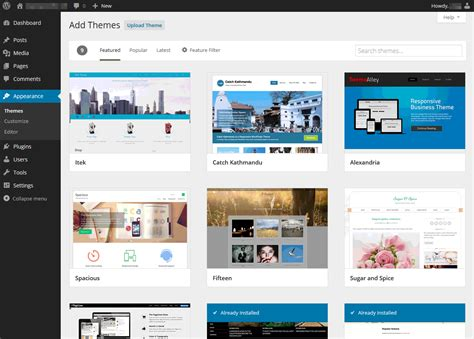 theme definition wordpress what s new in wordpress 3 9 sitepoint