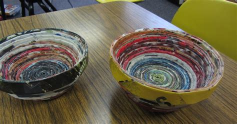 How To Make Paper Bowls From Magazines - tracy s living cookbook paper bowls what to do with