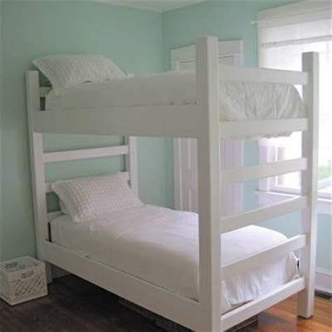 woodwork build   bunk bed plans  plans