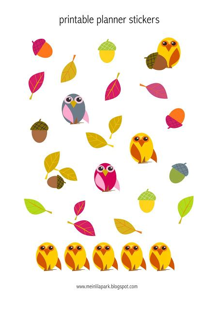 Ea Cutting Sticker Decal Code Ch Al001h free printable owl planner stickers agendasticker