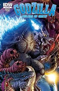 godzilla rulers earth 25 idw publishing