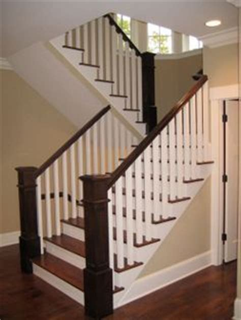 stair railing stripping paint and railings on