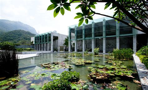 Landscape Architecture Hong Kong Hill Crematorium Honors The Circle Of With A