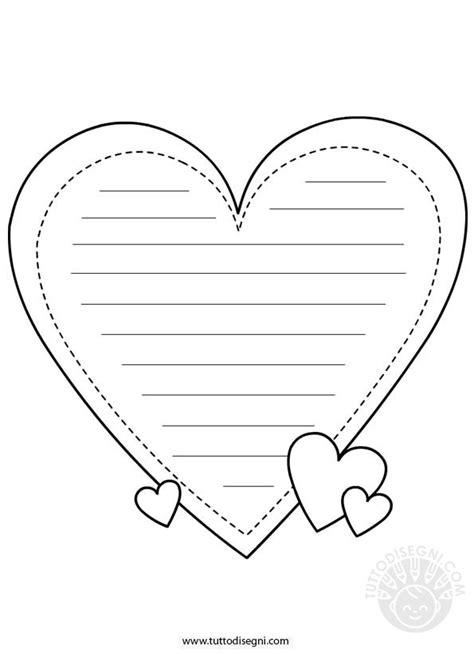 lettere di san valentino per san valentino carta da lettere da colorare tuttodisegni