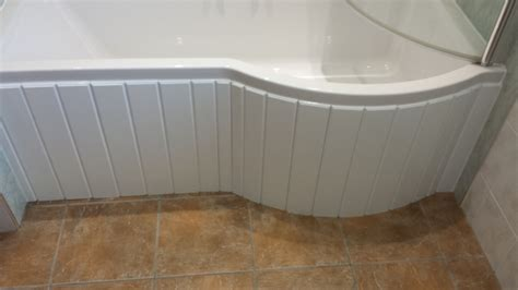 custom made bathtubs custom made flexible bath panel ideal for p shaped shower