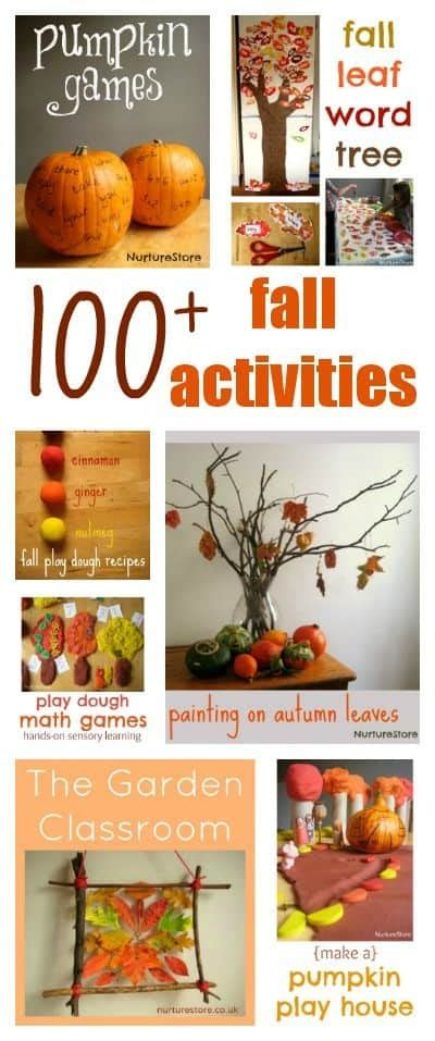 autumn  halloween activities  kids nurturestore