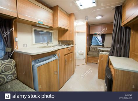 Wohnwagen Innenausstattung by A Caravan Interior At The Caravan And Motor Home Show At