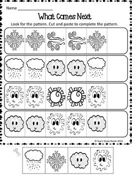 Weather Patterns Worksheet Pdf | patterns weather patterns worksheets by sue s study room